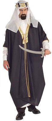 Arabischer Scheich Erwachsene Herren-Kostüm Braun Robe König - Arabische König Kostüm