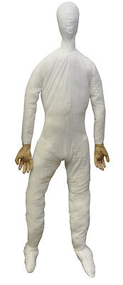 HALLOWEEN FULL SIZE LIFE SIZE  DUMMY W/ HANDS 6 FT PROP DECORATION HAUNTED HOUSE - Life Size Dummy