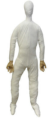 Halloween LifeSize Poseable DUMMY FULL SIZE WITH HANDS Prop Haunted House NEW - Life Size Dummy