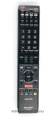 Genuine Sharp Aquos Remote Control Lc70le847u Lc80le844u ...