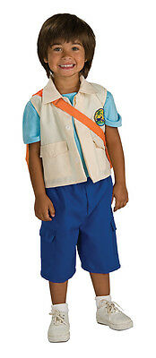 BOYS NICKELODEON DORA THE EXPLORER DIEGO DELUXE COSTUME BACKPACK 2-4T RU883169T - Diego Costume