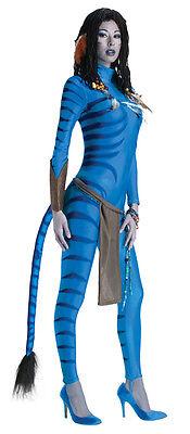 Deluxe Avatar Movie Neytiri Costume Sm & Med - Blue Avatar Costume