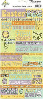 Easter Phrases (EASTER PHRASES Glitter Scrapbook)