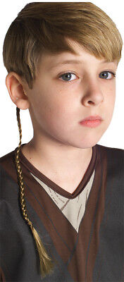 Jedi Knight Braid Child Dress Up Halloween Costume Accessory Rubies](Jedi Braid)