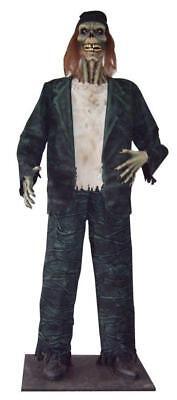 LIFE SIZE ZOMBIE CORPSE DRIFTER SPIRIT LIGHTED EYES HALLOWEEN PROP HAUNTED HOUSE](Spirit Halloween Zombie)