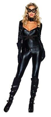 Katze Mädchen Erwachsene Damen Kostüm Catsuit Sexy Body - Schwarze Katze Kostüm Erwachsene
