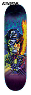 Santa Cruz The Worst Captain Deadstar Everslick Skateboard Deck 8.25in x 31.8in