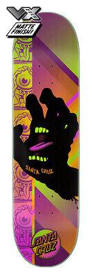 Santa Cruz VX Afterglow Screaming Hand 8.0 x 31.6 Skateboard Deck