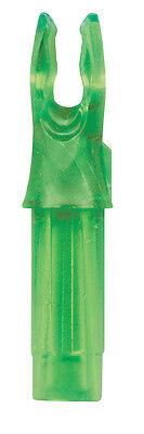 25 Pack Neon Green Bohning Signature Nocks Fits Victory V-Force HV V-Force