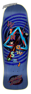 Santa Cruz Winkowski Eighth Dimension Powerply Skateboard Deck 10.34in x 30.54in