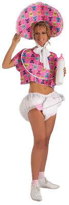 Big Baby Kit Pink Oversize Pin & Jumbo Pacifier With Diaper Forum Novelties