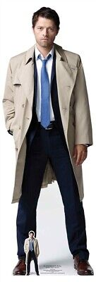 Supernatural Party Supplies (Castiel from Supernatural Cardboard Cutout with FREE Mini - Misha)