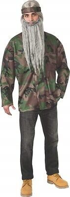 XLARGE - Rubie's Costume Men's Duck Hunting Season Hunter Camo Adult  Jacket ()