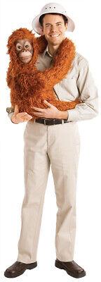 Zookeeper Halloween Costume (Baby Orangutan Arm Puppet Costume Funny Halloween Safari Zoo)