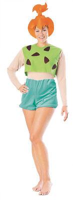 The Flintstones Pebbles Adult Women Costume Stone Age Halloween (Pebbles Adult Halloween Costume)