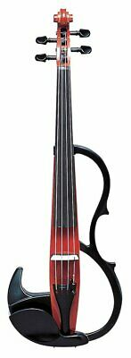 Used, Yamaha SV200 Silent Electric Violin Brown + FREE Violin Case, Rosin & Shipping for sale  Shipping to Canada