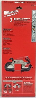 Milwaukee 48-39-0520 Band Saw Blade 44-78 In. 18 Tpi 1 Pack - In Stock