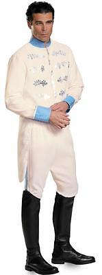ADULT DISNEY CINDERELLA MOVIE PRINCE CHARMING DELUXE COSTUME NEW DESIGN DG87047 - Prince Charming Disney Costume