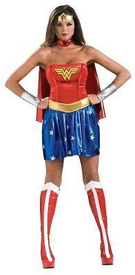 Wonder Woman Erwachsene Damen Sexy Kostüm Superheld Heldin Film