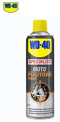 WD-40 Specialist Moto Limpiador Frenos Desengrase Discos Pads Bicicleta Coche