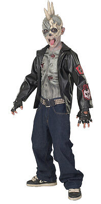 Punk Zombie Child Boy's Costume - Multiple Sizes Available