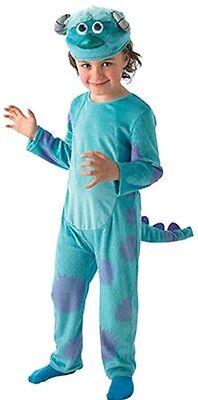 Jungen Monsters Inc Sulley Blau Monster Halloween Buch Kostüm Kleid - Sulley Kostüm Monsters Inc