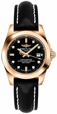 New Discount Breitling Galactic 29 Black Dial Women's Watch H7234812/BE86-477X