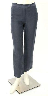 Nwt Joseph Linen Blend Henri Trouser Pants In Dark Navy French Size 36  Us 4