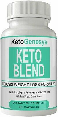 KETO GENESYS PILL Keto Blend Natural 800MG Ketones for Support Better