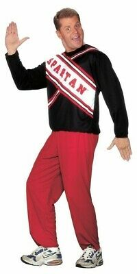 Spartan Guy Cheerleader Costume Adult Mens Snl Skit Will Ferrell Funny Halloween (Will Ferrell Cheerleader)