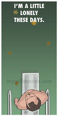 Original Herman Blume Rushmore Art Print Wes Anderson Poster Life Aquatic Zissou