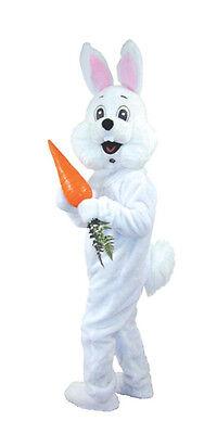 EASTER RABBIT BUNNY MASCOT DELUXE COSTUME DRESS - Rabbit Suit