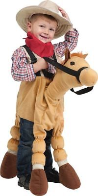 Horse Costume Cowboy Halloween Play Plush Soft Toy Stuffed Animal 3T to 5T](3t Animal Halloween Costumes)