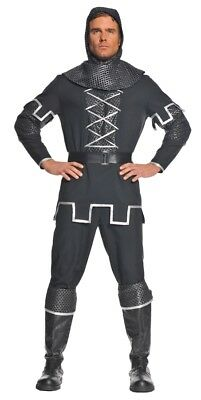 KNIGHT MEN'S COSTUME PLUS SIZE Medieval Armor Battle Halloween (Armored Knight Costume)