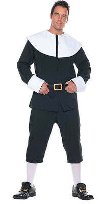 Pious Pilgrim Man Erwachsene Herren-Kostüm Holiday Thema Weihnachten - Holiday Party Kostüm