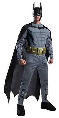 Erwachsene Dc Comics Batman Arkham Asylum Design Muskelbrust Kostüm (Arkham Batman Kostüm)