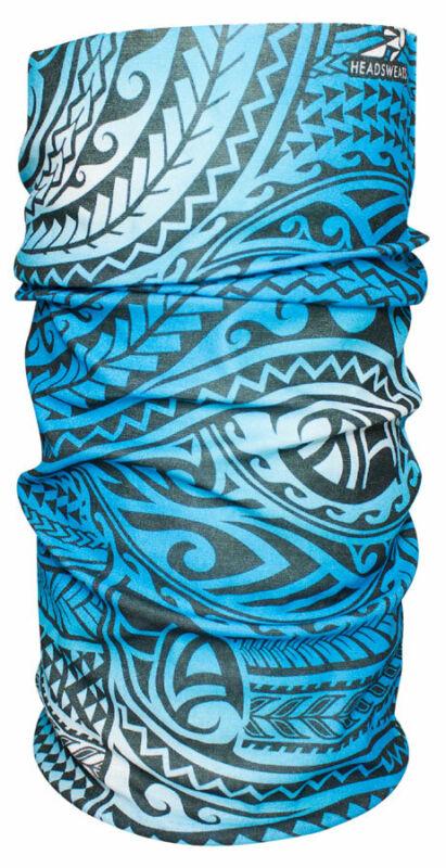Headsweats Ultra Band Multi-Purpose Headband - Full, Blue Tribal, One Size