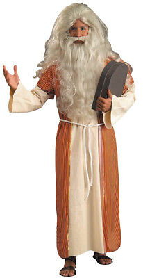 Christmas Themed Halloween Costumes (Moses Biblical Historical Adult Mens Costume Religious Theme Party)