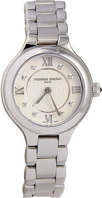 Frederique Constant Women's FC200WHD1ER36B Delight Swiss Quartz Silver Watch
