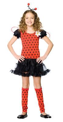 Daisy Bug Child Girls Costume Headband Petticoat Fancy Dress Leg Avenue - Daisy Bug Costume