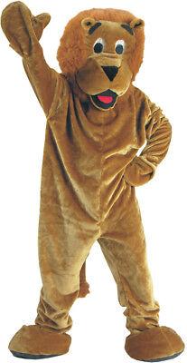 Brüllender Löwe Maskottchen Erwachsene oder Kinder Kostüm Wirtschaft Pelz (Kind Maskottchen Kostüme)