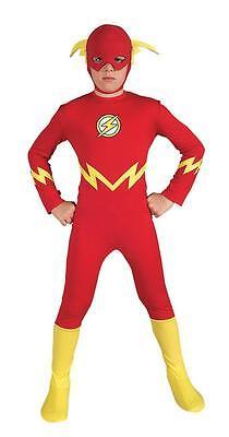 CHILD DC COMICS FLASH COMIC BOOK SUPERHERO COSTUME RU882112 - Cheap Childrens Superhero Costumes