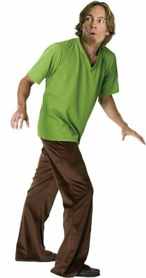 Shaggy Halloween Costume (SHAGGY Costume Adult Mens Halloween Scooby Doo Cartoon Character Movie)