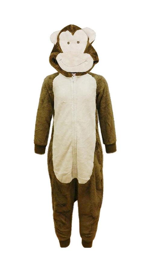 Monkey All-in One Pyjamas