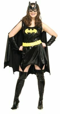 Batgirl Plus Size Adult Womens Costume Dark Knight DC Comics Halloween ()