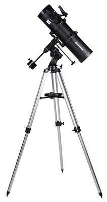 BRESSER Spica 130/650 EQ2 - Spiegelteleskop Carbon design