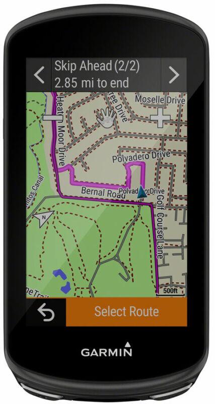 Garmin Edge 1030 Plus GPS Bike Computer GPS Wireless Black Cycling