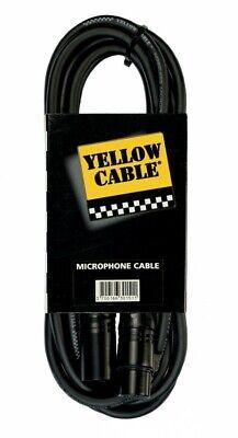 Câble XLR - XLR 10 m - Yellow câble M10X