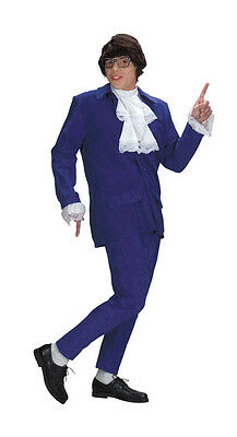 AUSTIN POWERS COSTUME HALLOWEEN COSTUME REENACTMENT MEN NEW FREE SHIPPING (Austin Powers Halloween Kostüme)