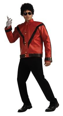 Michael Jackson Thriller 80S Red Jacket Adult Men Costume Icon Theme Halloween](Thriller Halloween Costumes)